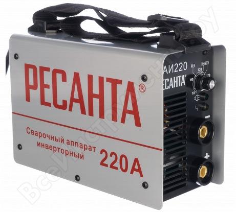 Инверторный сварочный аппарат Ресанта САИ 220 65/3