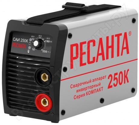 Инверторный сварочный аппарат Ресанта САИ250К 65/38