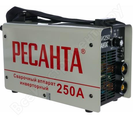 Инверторный сварочный аппарат в кейсе Ресанта САИ 250