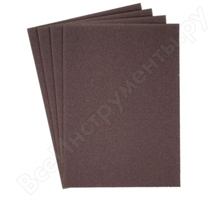Лист шлифовальный на бумажной основе, водостойкий (230х280 мм; Р1200) KLINGSPOR 269334