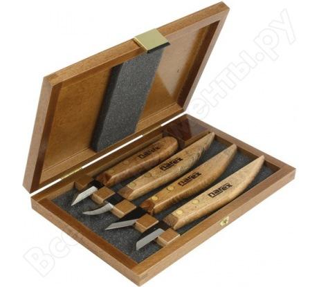 Набор из 4 ножей в деревянной коробке NAREX Profi 869100