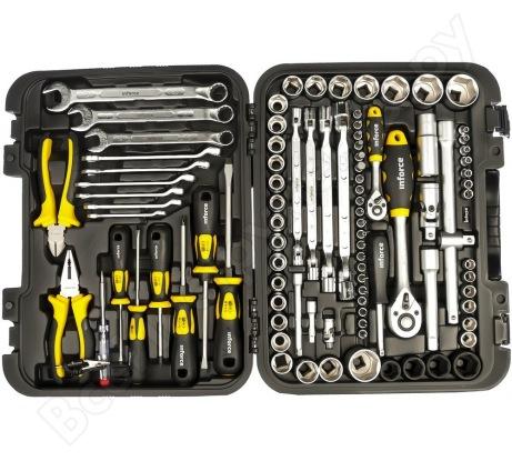 Набор слесарного инструмента Inforce PROFline 98 предметов 06-01-04