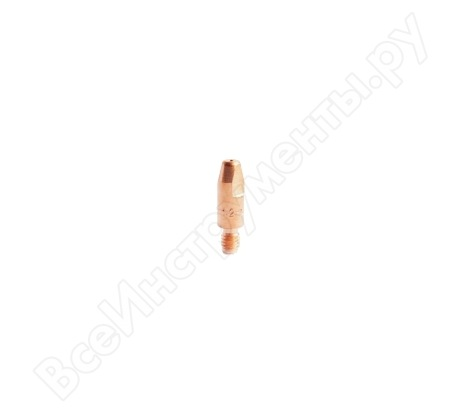 Наконечник токопроводящий (E-Cu; М6х28; 0.8 мм) для горелок MIG/MAG Сварог ICU0004-08
