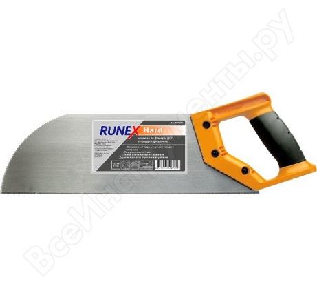 Ножовка по фанере и ДСП Runex Hard 320мм ударный зуб 13 577407
