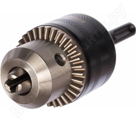 Патрон ключевой (13 мм; 1/2-20 UNF + адаптер) ПРАКТИКА 030-993