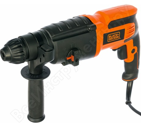 Перфоратор Black+Decker SDS+ BDR26K