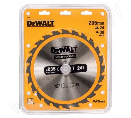 Пильный диск CONSTRUCT (235х30 мм; 24 ATB) Dewalt DT1954