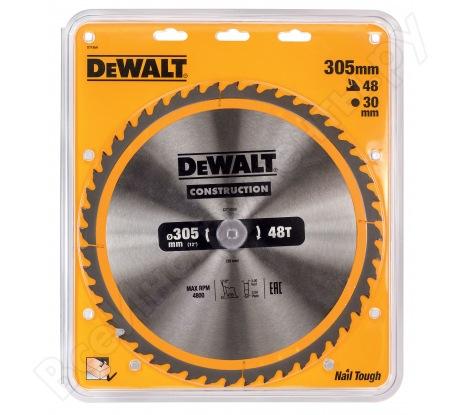 Пильный диск CONSTRUCT (305х30 мм; 48 ATB) Dewalt DT1959
