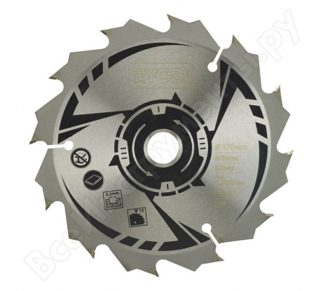 Пильный диск для EWS1150RS (170х20х2.2 мм; 12 зубьев) Ryobi CSB170A1
