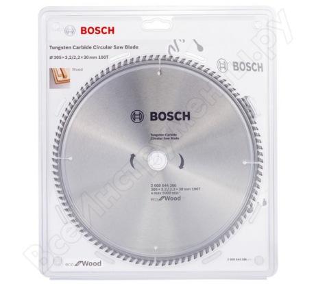 Пильный диск ECO WOOD (305x30 мм; 100T) Bosch 2608644386