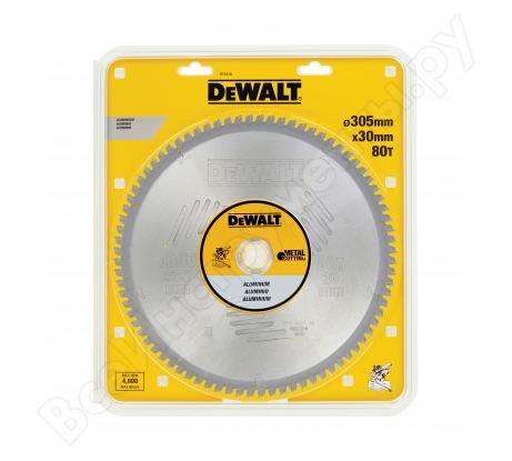 Пильный диск по алюминию EXTREME (305х30 мм; 80 зубьев TCG) Dewalt DT1916
