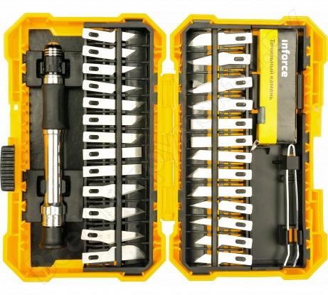 Профессиональный набор ножей и резаков (29 предметов) Inforce 06-07-09