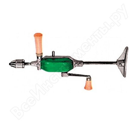 Ручная дрель с упором, патрон 10 мм FIT DIY 37802