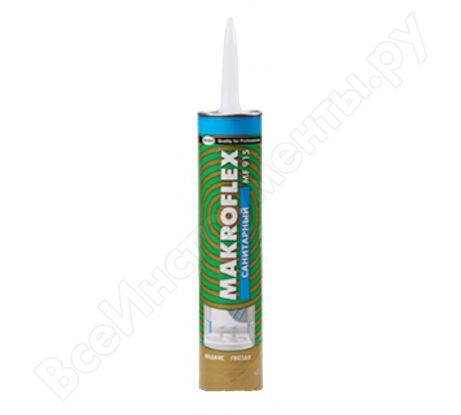 Санитарный герметик клей MF915, 400г MAKROFLEX 782491
