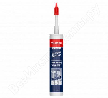 Силиконовый санитарный герметик Penosil S белый Н1199