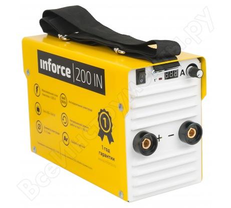 Сварочный инвертор + провода Inforce 200