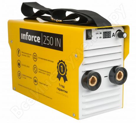 Сварочный инвертор + провода Inforce 250