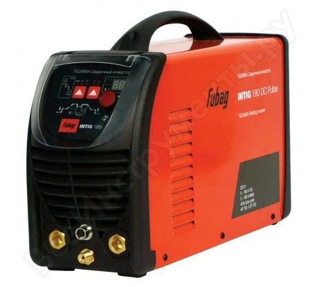 Сварочный инвертор с горелкой и газовым шлангом FUBAG INTIG 180 DC PULSE 68 438.1