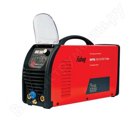 Сварочный инвертор с горелкой и газовым шлангом FUBAG INTIG 200 AC/DC PULSE 68 441.1