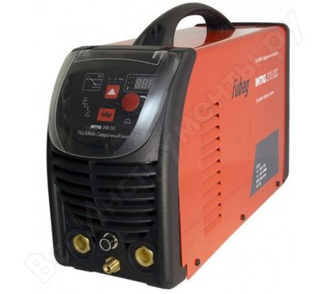 Сварочный инвертор с горелкой и газовым шлангом FUBAG INTIG 200 DC 68 437.1
