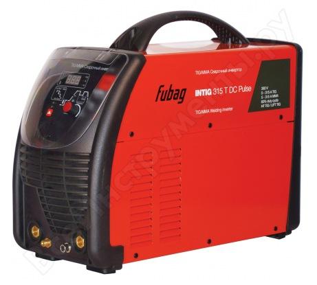 Сварочный инвертор с горелкой и газовым шлангом FUBAG INTIG 315 T DC PULSE 68 440.1