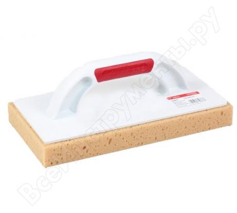 Терка с нарезной губкой для максимального впитывания воды CORTE 0387