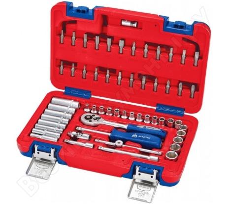 Универсальный набор инструментов МАСТАК 57 предметов 01-057C