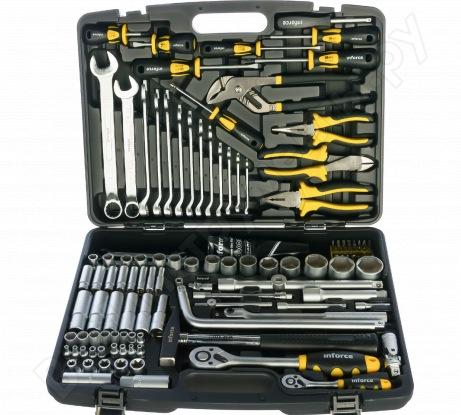 Универсальный набор слесарного инструмента Inforce PROFline 138 предметов 06-01-11