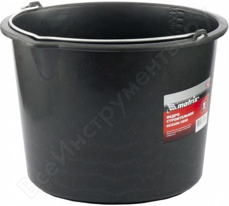 Усиленное строительное пластмассовое ведро 20л MATRIX 81439