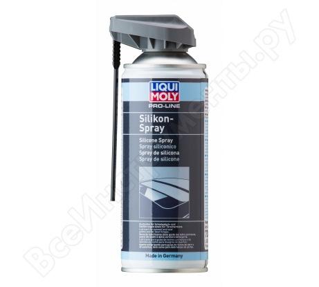 Бесцветная смазка-силикон LIQUI MOLY Pro-Line Silikon-Spray 0,4л 7389