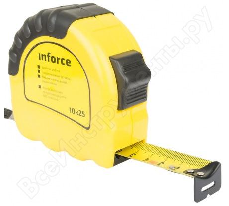 Измерительная рулетка Inforce 10х25мм 06-11-04
