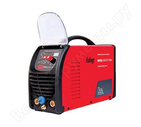 Сварочный инвертор с горелкой и газовым шлангом FUBAG INTIG 200 DC PULSE 68 439.1