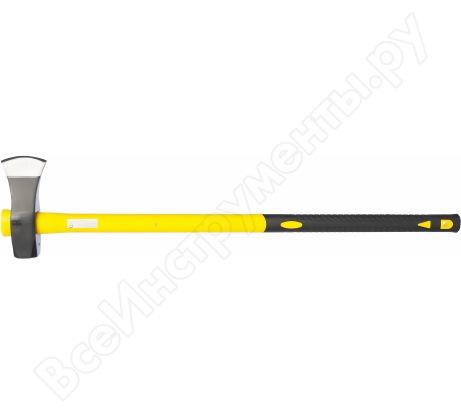Топор-колун Inforce 2700 грамм с фибергласовой рукояткой 900 мм 59478