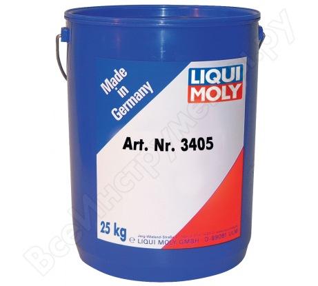 Высокотемпературная смазка для ступиц подшипников 25кг LIQUI MOLY LM 50 Litho HT 3405