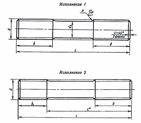 Шпилька: ее подбор, применение, расчет веса - 14