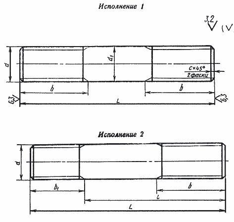 Шпилька: ее подбор, применение, расчет веса - 13