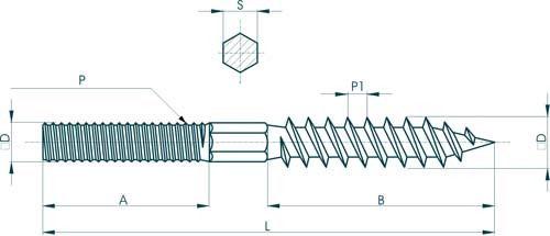 Шпилька: ее подбор, применение, расчет веса - 9