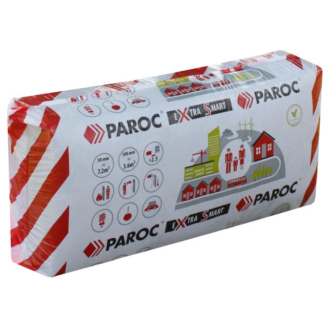 Теплоизоляция PAROC eXtra Smart 1200х600х100мм