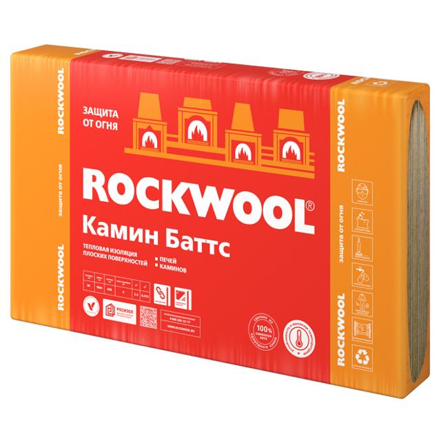 Теплоизоляция Rockwool Камин Баттс 1000х600х30мм