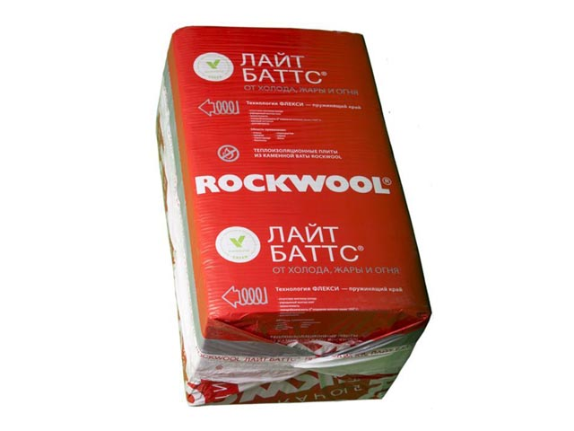 Теплоизоляция Rockwool Лайт Баттс 1000х600х50мм