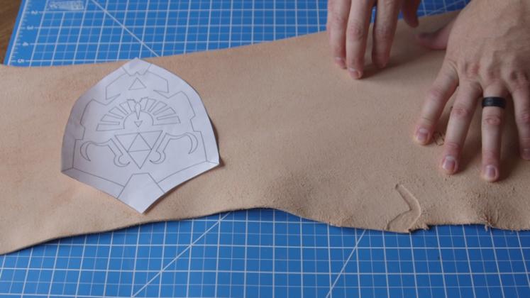 Делаем сумку для инструментов из кожи | 1