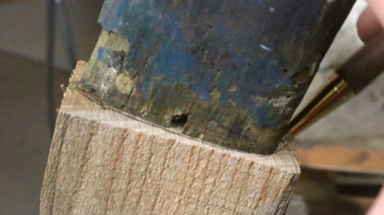 Реставрация старого топора своими руками | 16