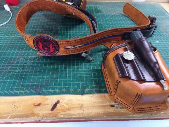 Ремень с подсумками для инструментов своими руками | 1
