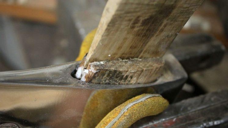 Реставрация старого топора своими руками | 24