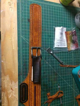 Ремень с подсумками для инструментов своими руками | 26