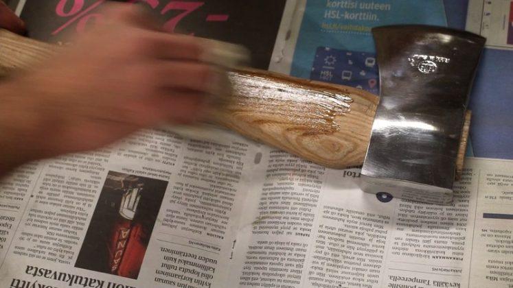 Реставрация старого топора своими руками | 27