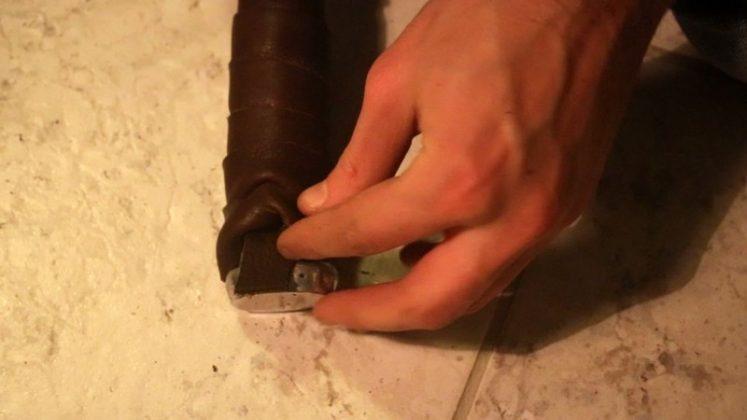 Делаем молот тора своими руками | 34