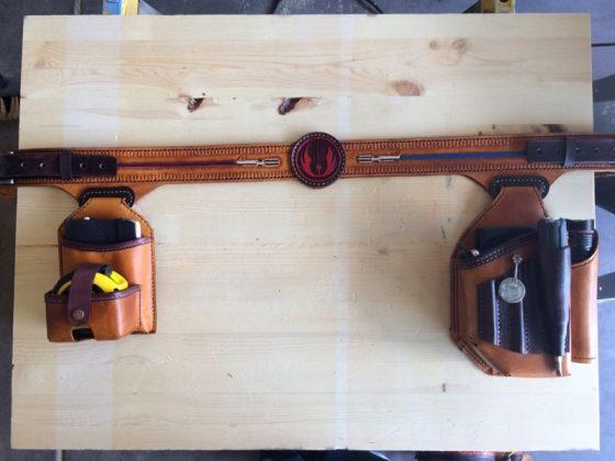 Ремень с подсумками для инструментов своими руками | 50