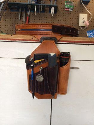 Ремень с подсумками для инструментов своими руками | 52