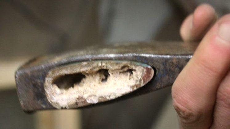 Реставрация старого топора своими руками | 7